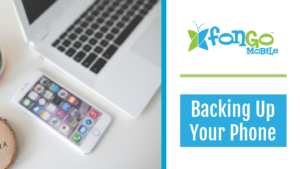 Backing up your phone