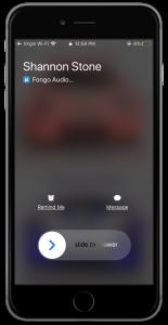 Fongo Locked iPhone Calling