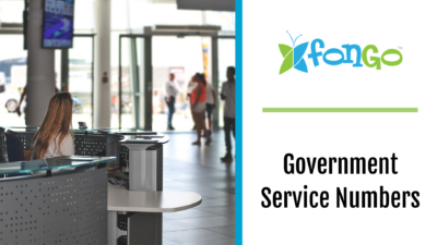 Fongo Blog Government Service Numbers