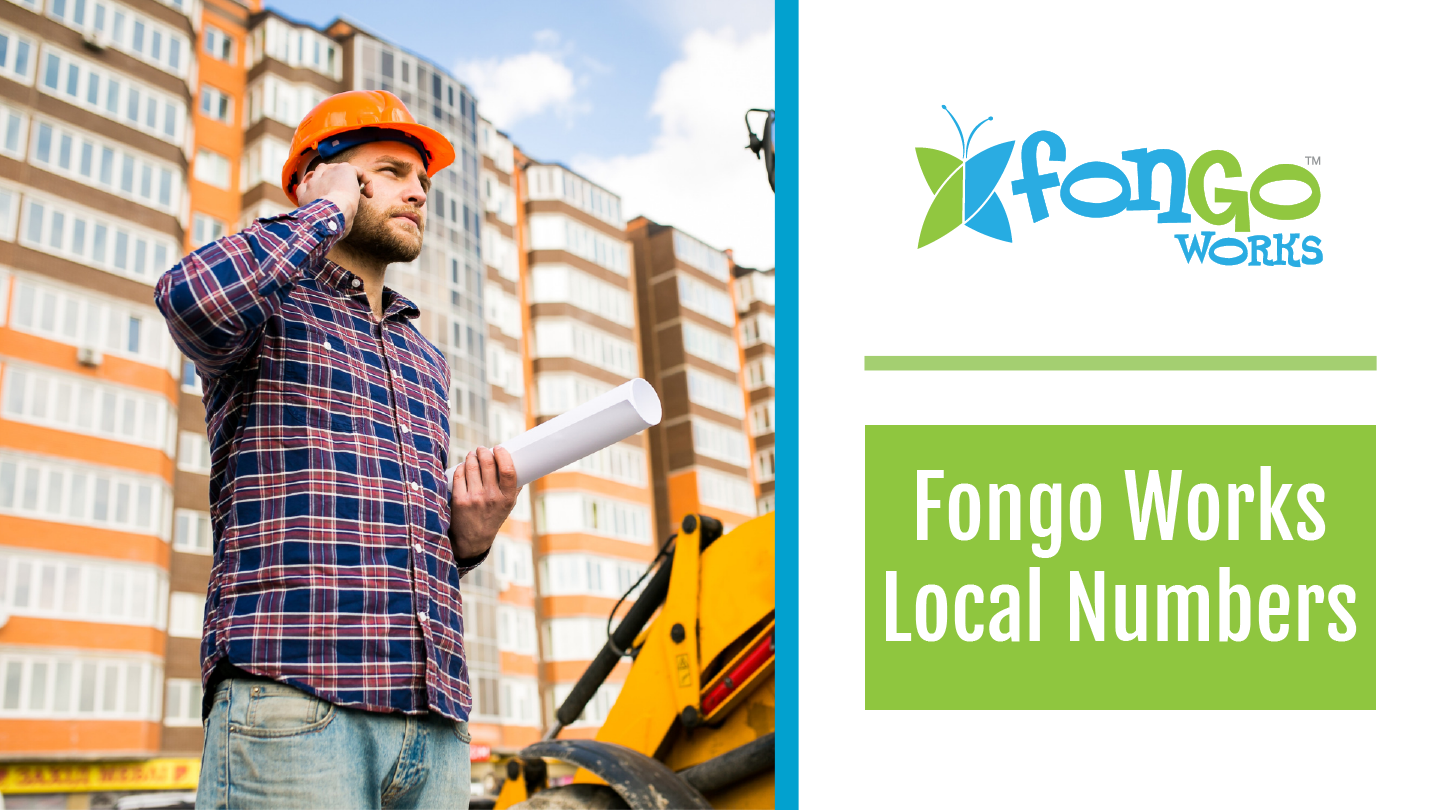 Where Does Fongo Works Provide Local Numbers?