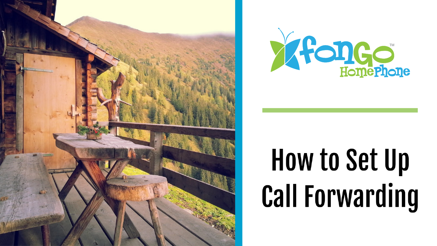 How to set up call forwarding with Fongo Home Phone
