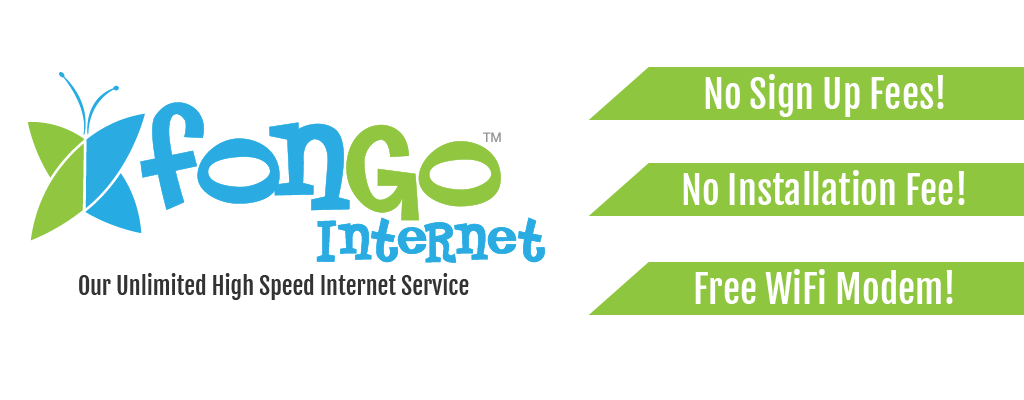 Fogno Internet - Our unlimited high speed internet service