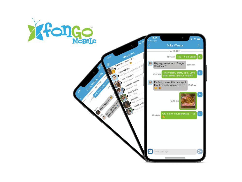 Fongo Wireless comes with Fongo Canadian texting