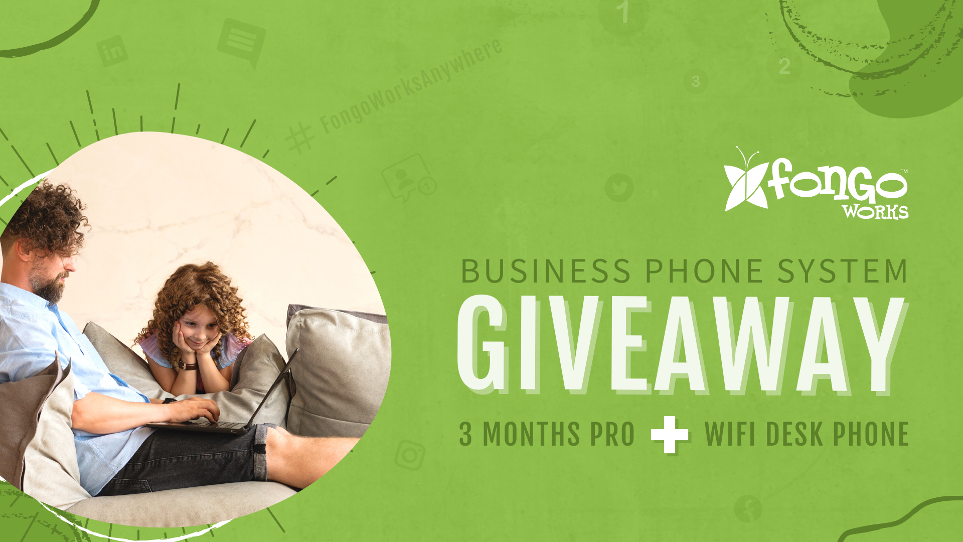 Fongo Works Campaign Giveaway
