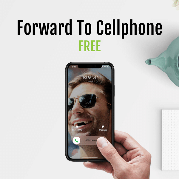 Forward to your cellphone for free with Fongo Works