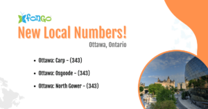New local numbers available in Ottawa, Ontario.