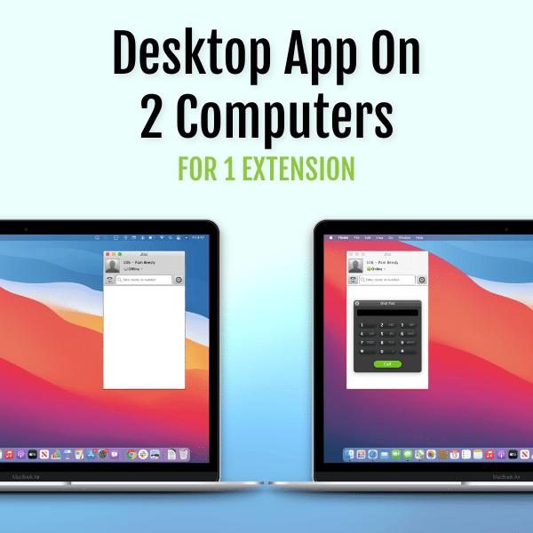 Fongo Works Desktop App on 2 Computers